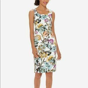 The limited Floral sheath dress